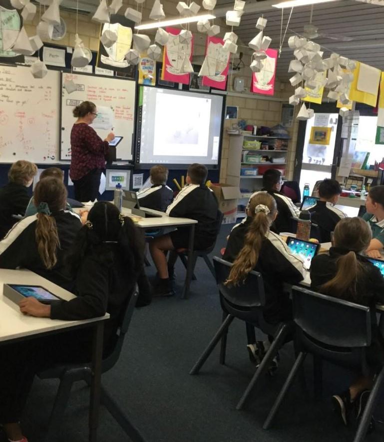 Tapping Primary School Ignites Creativity