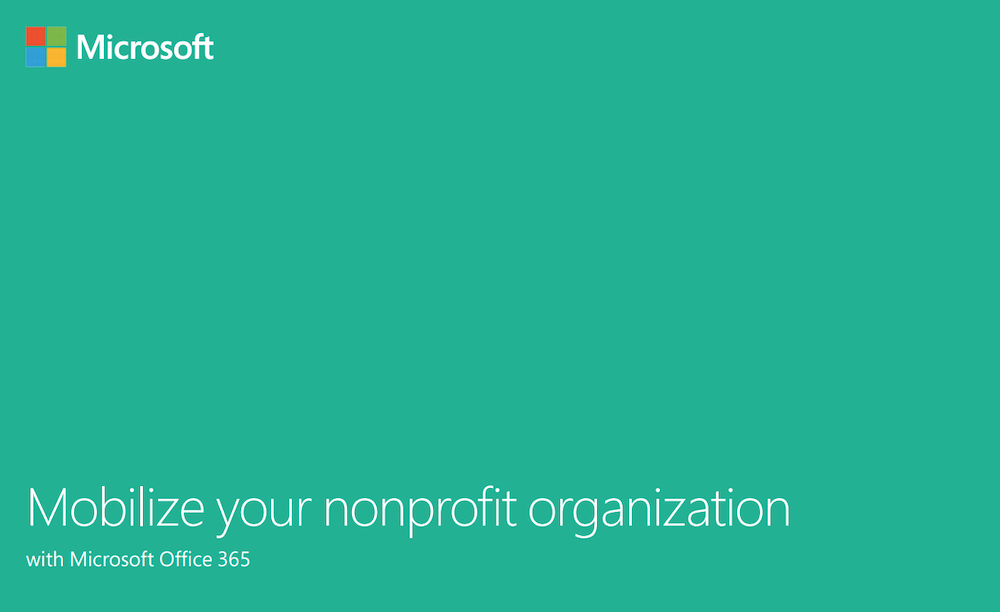 Mobilize your nonprofit organization